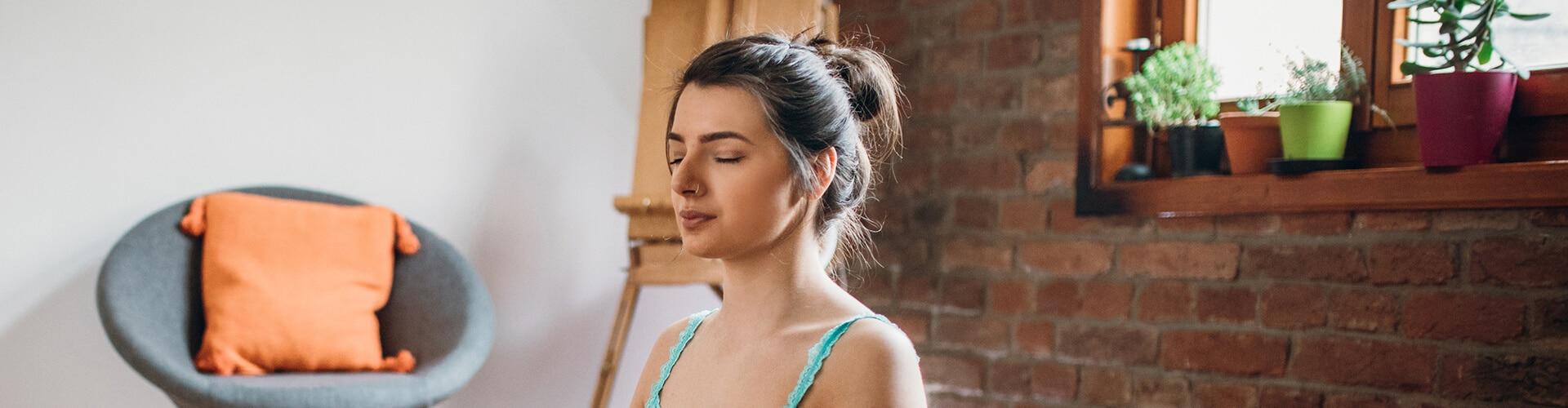 Para meditar, escolha um lugar onde você possa não ser interrompido por 10 minutos.