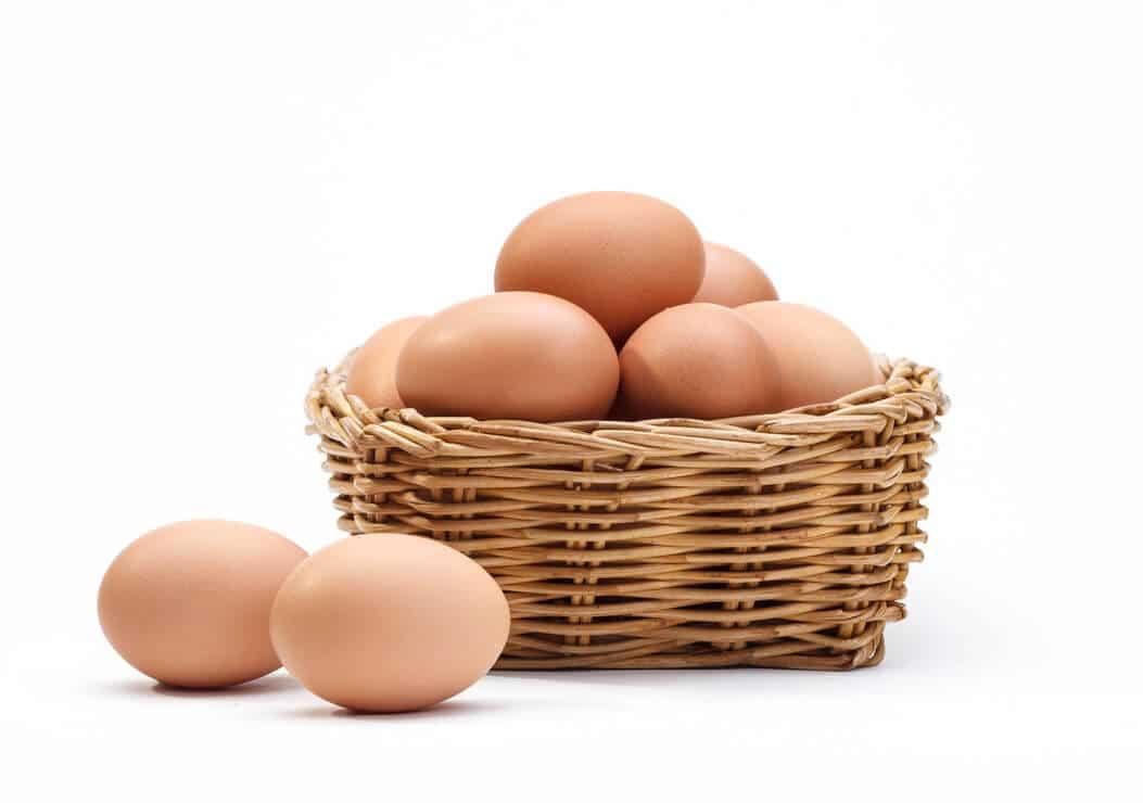 Ovos são fonte de vitamina B2