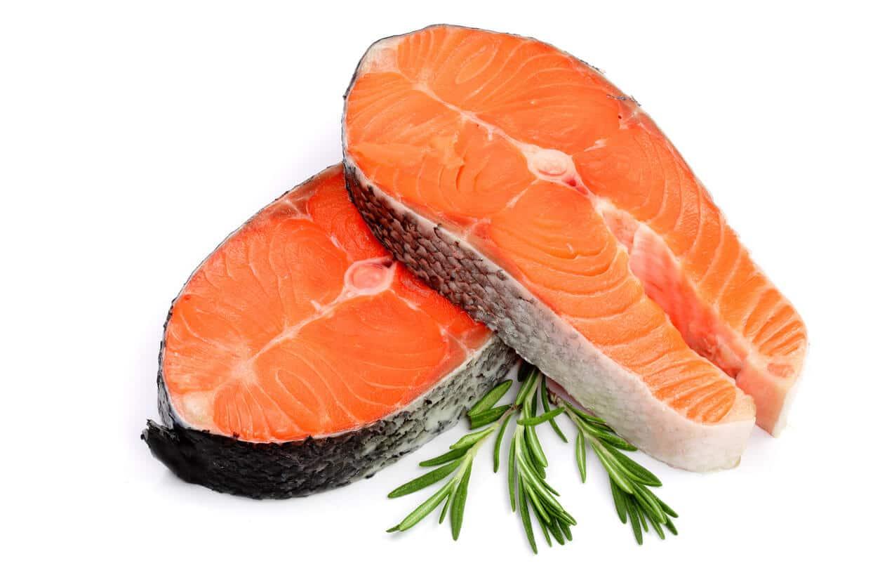 Salmão é fonte de vitamina B6
