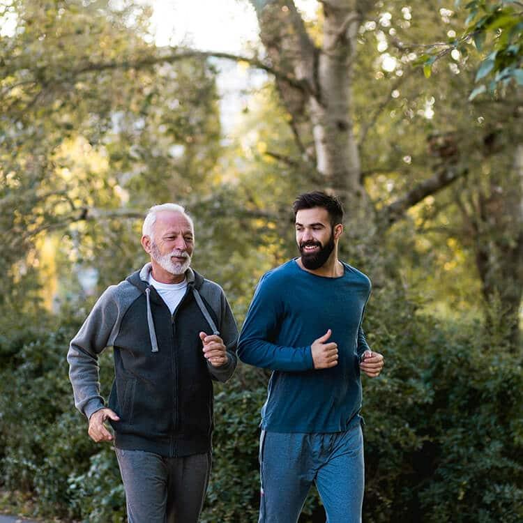 Exercício físico gera saúde