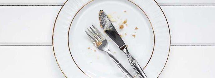 prato pós refeição