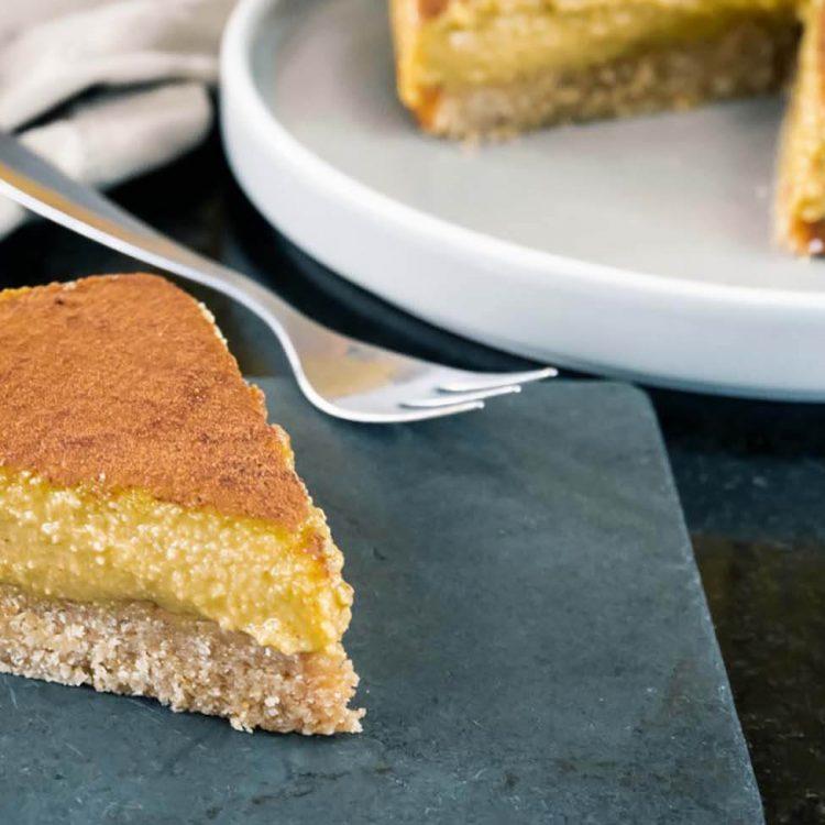 fatia de torta low carb
