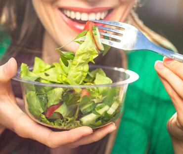 Tigela de saladas