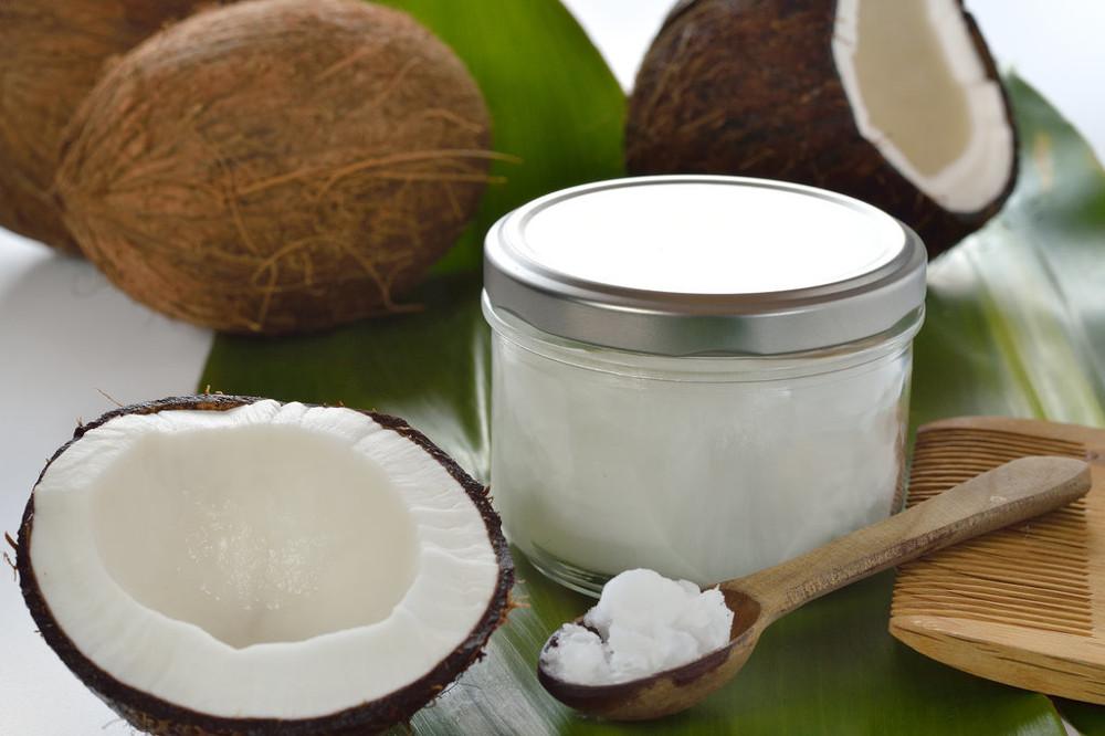 Bicarbonato e óleo de coco